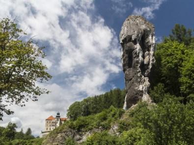 Pieskowa Skała Castle (Little Dog's Rock Castle)