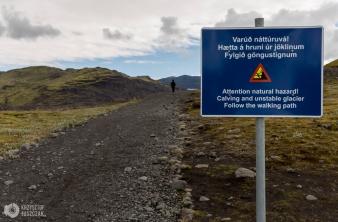 droga na lodowiec