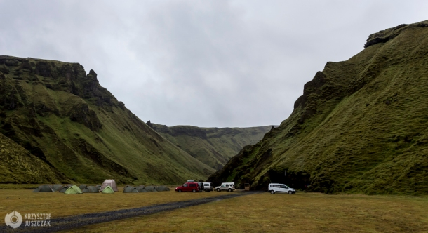 Camping Þakgil