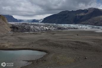 lodowiec Vatnajökull - jęzor Skaftafellsjökull