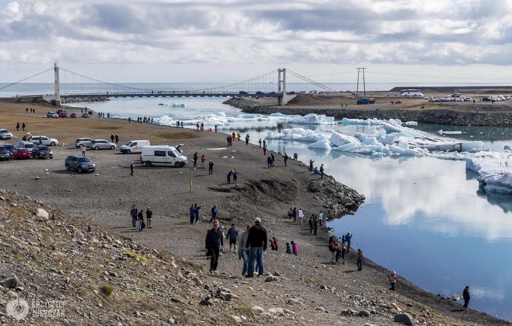 Jökulsárlón - jezioro lodowcowe.