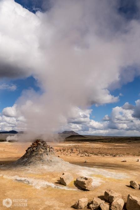 Obszar geotermalny Hverir